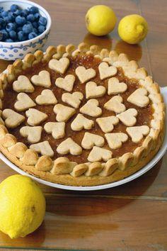 crostata al limone e cocco