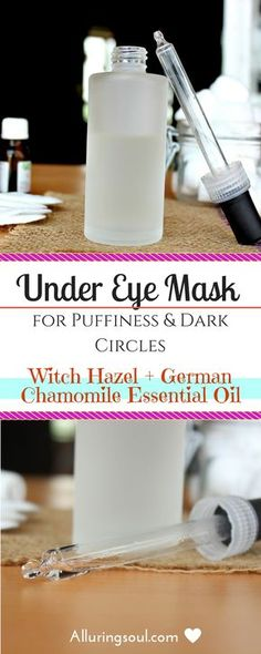Get rid of puffy eyes and dark circle with is powerful witch hazel under eye treatment.