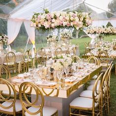 Mirror glass modern furniture 8 seaters glass dining table with wedding chairs set Marquee Wedding, Tent Wedding, Indoor Wedding, Wedding Chairs, Luxury Wedding, Wedding Table, Dream Wedding, Gold Wedding Decorations, Wedding Themes