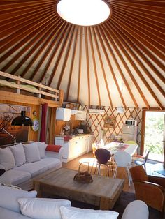 Y3 Coulonges sur Sarthe Yourte Contemporaine by yourte contemporaine, via Flickr