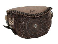 Waistbag Anekke Ixchel Mondgöttin Crossover Nieten Crossover, Emblem, Saddle Bags, Fashion, Fanny Pack, Riveting, Voyage, Bags, Leather