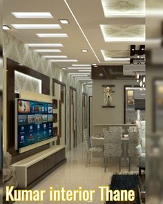 #livingroomdesign #ceilingdesignliving room #kumarinterior Tv Unit Design, Home Interior Design, Living Room Designs, Bedroom, Table, House, Furniture, Flat, Live