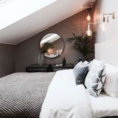 Mind blowing Attic renovation with dormer,Attic bedroom australia and Attic apartment renovation. Loft Room, Bedroom Loft, Dream Bedroom, Home Bedroom, Bedroom Decor, Master Bedroom, Bedroom Ideas, Attic Bedroom Designs, Attic Design