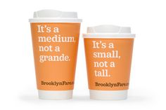Brooklyn Fare -Identity, Packaging, Interiors, Stationery & Uniforms  Full service grocery store in Downtown Brooklyn. The identity is : custom proprietary typeface, four colors, and witty copy.