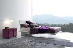 Plana Designer Floating Bed by Presotto #18461