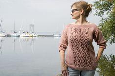 Ravelry: Kyra Boatneck Pullover pattern by Kelene Kinnersly $