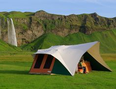 Holtkamper Kyte Tent Trailer - incredibly spacious and comfortable. The civilized way to camp. G&T anyone?