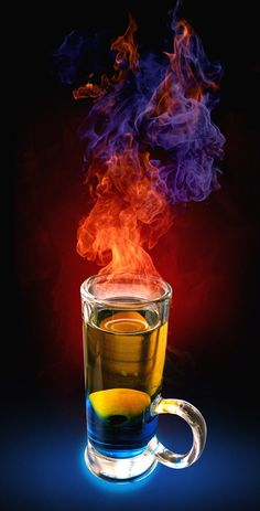 fire #4 love the way the redfire goes to blue - I have seen that on fire type drinks as the alcohol burns off