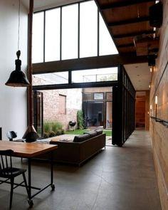 interior courtyard space