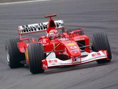 2002 Ferrari F2001 (Michael Schumacher)