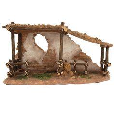 Fontanini Animal Corral Collection from Bronner's Christmas store of Christmas ornaments and Christmas lights