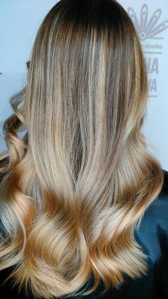 Рассвеление волос.
