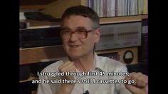Music my love - interview with Beksiński, 1992 My Struggle, Interview, Sayings, My Love, Music, Youtube, Art, Musica, Art Background