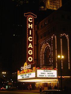 Chicago Theater. . . Would love to visit the interior of this grand theatre. Believe it holds a few tidbits of family history. One day I will check that out.