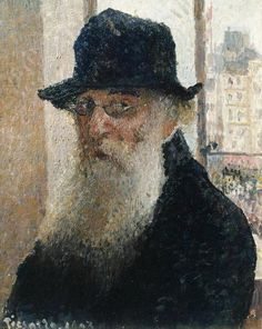 Camille Pissaro self portrait http://cultured.com/images/image_files/2864/3422_m_camille_pissarro__self_portrait.jpg #FredericClad #THEFARM