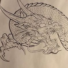 japanese tattoos designs and meanings Dragon Japanese Tattoo, Dragon Tattoo Drawing, Japanese Tattoos For Men, Japanese Dragon Tattoos, Japanese Drawings, Japanese Tattoo Designs, Japanese Tattoo Art, Japan Painting, Koi Painting