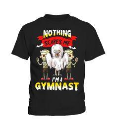 Funny Gymnast Halloween TShirt