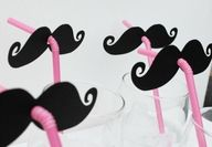 Will have to make these for the next Riley Family gathering.  Hey Joe and Vinny, the 80's called....they want their stache' back!