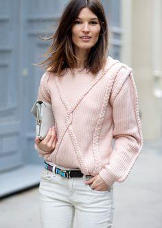 Hanelli Mustaparta_in Stine Goya lovely sweater