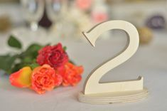 Table numbers wedding table decoration - wedding set - numbers tall 5,2 with the wooden base cut from plywood 1/2 - please see the dimensions on the image 4 in the listing. The listing is for a set OF AS MANY table numbers AS YOU NEED - please see the DROP MENU FINISH - choose from the drop