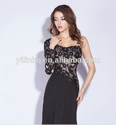 2014 Formal Sexy Beading One Shoulder Cheap Elegant Long Chiffon Ebay  Turkish Evening Dress Made in 2a7be7858582