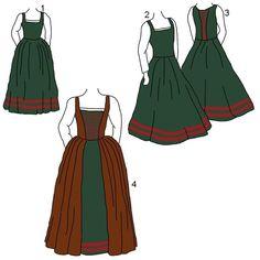 Historical dresses on Pinterest | Tudor, Tudor Dress and Gowns