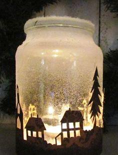 Egy kis papír és egy befőttesüveg: ilyen csodaszép árnyjáték lesz belőle   femina.hu