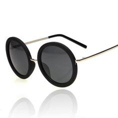 Vintage Round Frame Sunglass Unisex sunglasses
