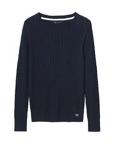 Mini cable sweater from Crew