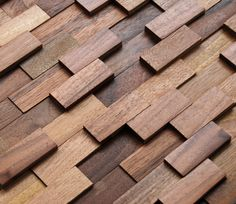 3d mosaic wood paneling - wood wall panels made from real wood