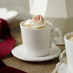 Chocolate Latte | Add a dusting of cinnamon or freshly ground nutmeg to make this warm beverage your own.