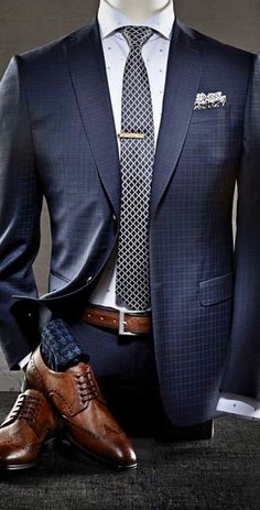 menssuits mensfashion bespoke customsuits menswear mensstyle weddingideas bluesuit giorgentiweddings businessmensfashion is part of Formal suits men - Blue Suit Men, Grey Suits, Navy Blue Suit Fashion, Blue Suit Outfit, Man Suit, Mode Costume, Designer Suits For Men, Herren Outfit, Mode Masculine