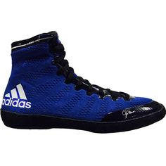 Boxing Images, Martial Arts Gear, Fight Wear, Wrestling Shoes, Adidas Sport, Blue Shoes, High Top Sneakers, Footwear, Male Style