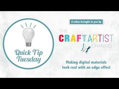 To kick off our Quick Tip Tuesday series, here's our first one: how to write text around the edge of a shape. This tutorial is for CraftArtist 2 Professional. Digital Image, Digital Art, Craft Tutorials, Ruler, Digital Scrapbooking, Card Making, Photoshop, Serif, Writing