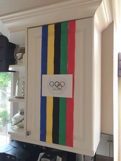 Couples Olympics 2016 Decorations with Streamers