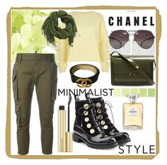 """Bez naslova #31"" by mirela-saletovic on Polyvore featuring moda, River Island, Alexander McQueen, Chanel, Dsquared2 i Marni"