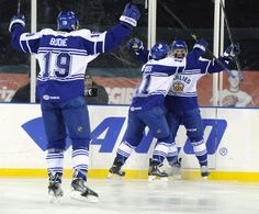 Kenny Ryan had the tying goal to send it into overtime. Marlies would go on to win it 4-3 in a shootout.