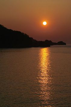 Combe Martin Sunset, England