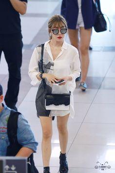 Sooyoung, Yoona, Snsd Tiffany, Tiffany Hwang, Oriental Fashion, Asian Fashion, Yuri, Snsd Fashion, Airport Style