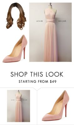 """""""Untitled #11790"""" by iamdreamchaser ❤ liked on Polyvore featuring Christian Louboutin"""