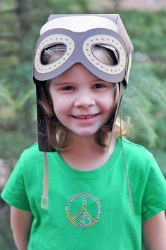 #Cricut Pilot hat - airplane party