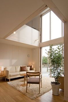 Tree house - and the people, train of house Interior Windows, Interior Exterior, Interior Architecture, Interior Design, Muji Home, Tree House Designs, H Design, Minimal Home, Muji Style