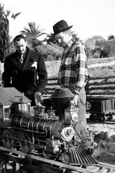 Salvador Dali and Walt Disney (1957).