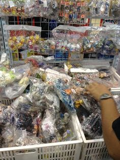 Merchandise shopping at Thailand Comic Con 2014