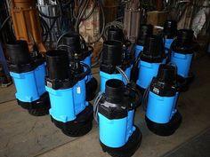 Máy bơm Tsurumi KTZ, KRS, KRZ, Máy bơm nước Tsurumi: Đặc trưng kỹ thuật của máy bơm Tsurumi xử lý nước ...