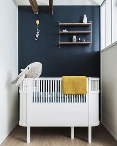 A blue and white nursery - Is To Me