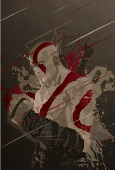 Kratos - God of War - Mik4g.deviantart.com