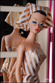 Fashion Queen Barbie - had this outfit for my Barbie. I thought it was weird. still is!