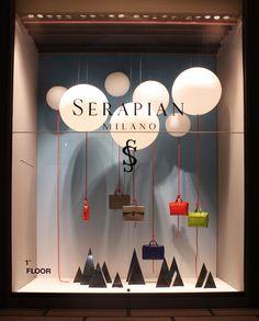Serapian windows by Sovrappensiero Design Studio, Milan