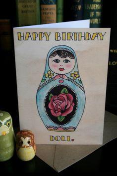 Image of 'Happy Birthday Doll.'